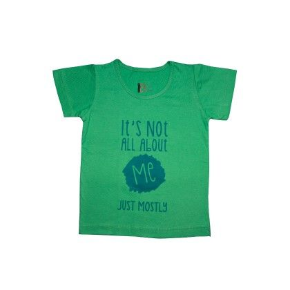 Not All About Me Tee In Green - PlanB