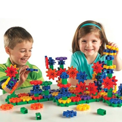 Gears! Gears! Gears! Super Building Set - Learning Resources