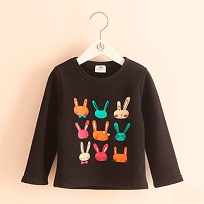 Black Bunny T-shirt - Mauve Collection