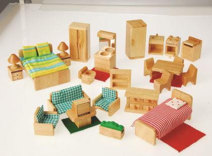 Hardwood Furniture Set - Constructive Playthings
