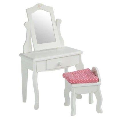 Little Princess Vanity Table & Stool Set - Teamson Kids