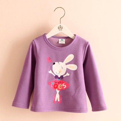 Cute Purple Printed T-shirt - Mauve Collection