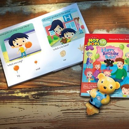 Hot Dots Tots All About Me - Educational Insights