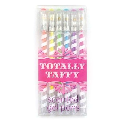 Totally Taffy Pastel Gel Pens - International Arrival