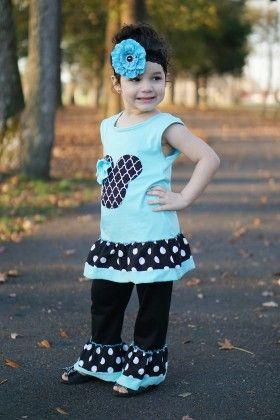 Minnie Mouse Boutique Pant 2 Piece Set - Dress Up Dreams