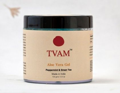 Aloe Vera Gel -  Peppermint & Green Tea - Tvam