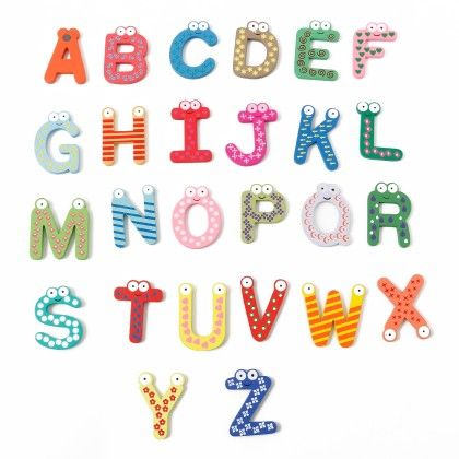 Alphabet A To Z - Wooden Magnets - It's All About Me