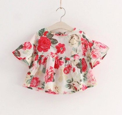 Floral Crop Top - Dell's World