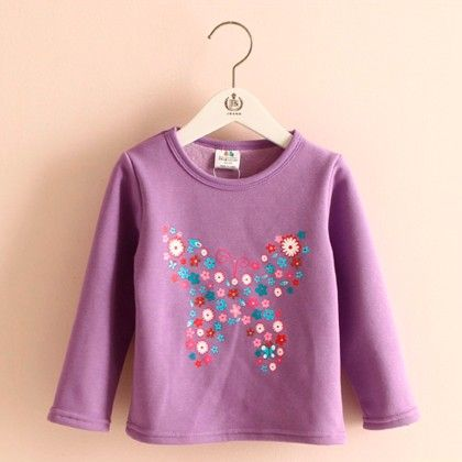 Butterfly Purple T-shirt - Mauve Collection