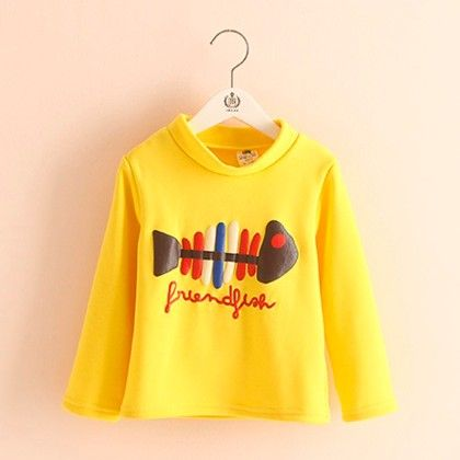 Yellow Fish Printed T-shirt - Mauve Collection