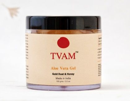 Aloe Vera Gel -  Gold Dust & Honey - Tvam