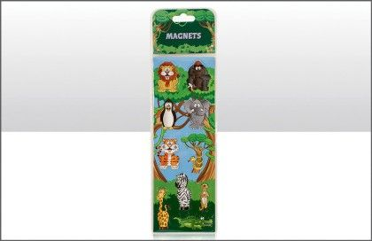 Jungle Animals Themed Magnet Set - Elgate