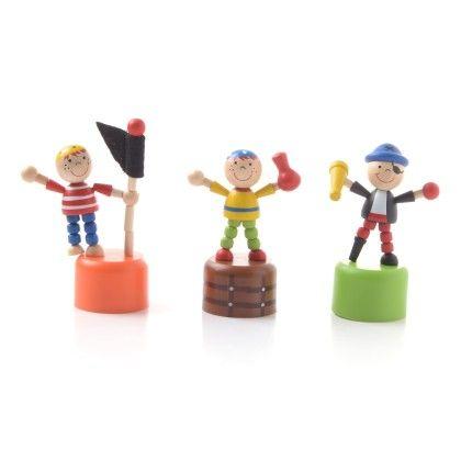 Push Toy Pirates (set Of 3) - Sassafras