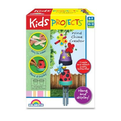 Kids Projects Wind Chime Creator - Colorific Education