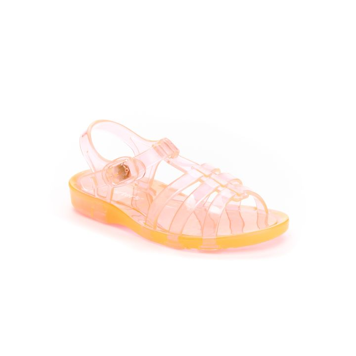 d4aa15345e03 Hopscotch - carter s - Neon Pink Jelly Sandals