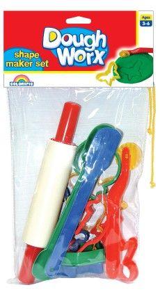 Dough Worx Shape Maker Set - Colorific Education