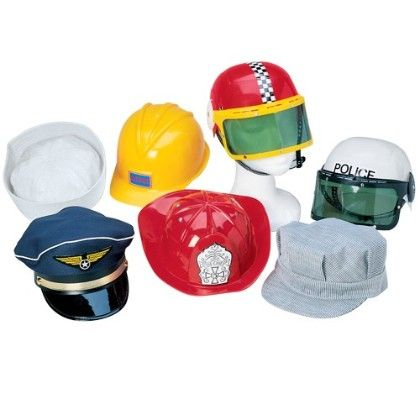 Career Hat Set - Constructive Playthings