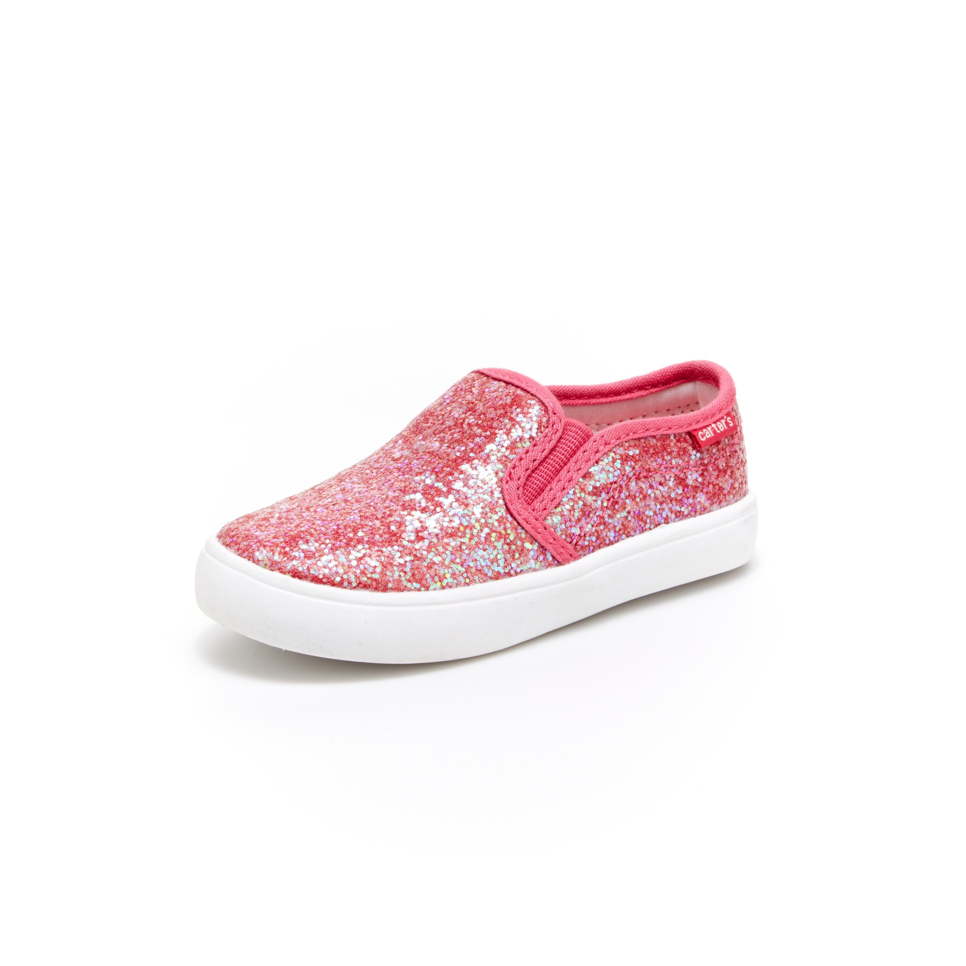 Hopscotch - carter s - Shimmery Pink Slip On Shoes ad26add2133