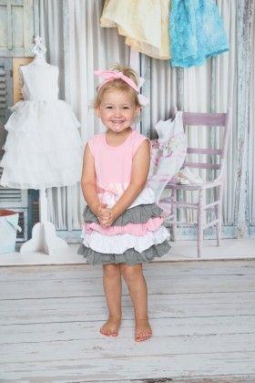 Princess Ruffle Cotton Dress - Dress Up Dreams