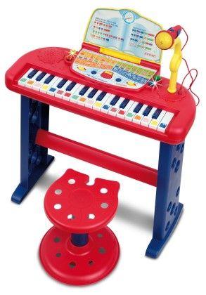 32 Key Electronic Speaking Organ With Microphone - Bontempi