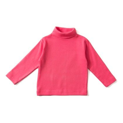 Pink High Neck T-shirt - ZERO