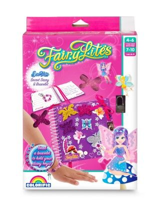 Fairylites Secret Diary & Bracelet - Colorific Education