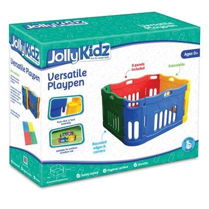 Jolly Kidz Versatile Playpen - Colorific Education