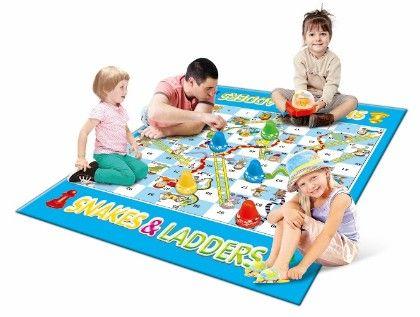 Mitashi Playmart  Giant Snakes & Ladders - Sky Kidz