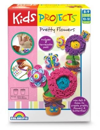 Kids Projects Pretty Flowers - Colorific Education