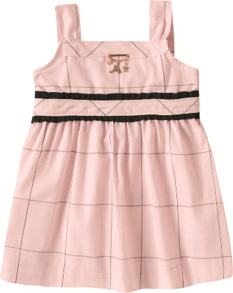 Pretty Pink Sun Dress - Milon