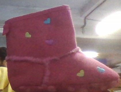 Dcolourful Hearts Boots - Pink (do Not Make Active) - Peach Giirl