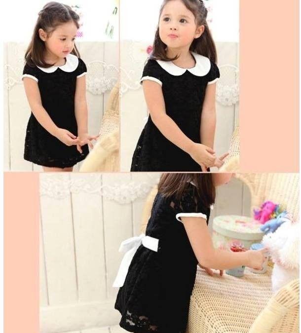 Miss Elegance Vintage Dress - Petite Kids