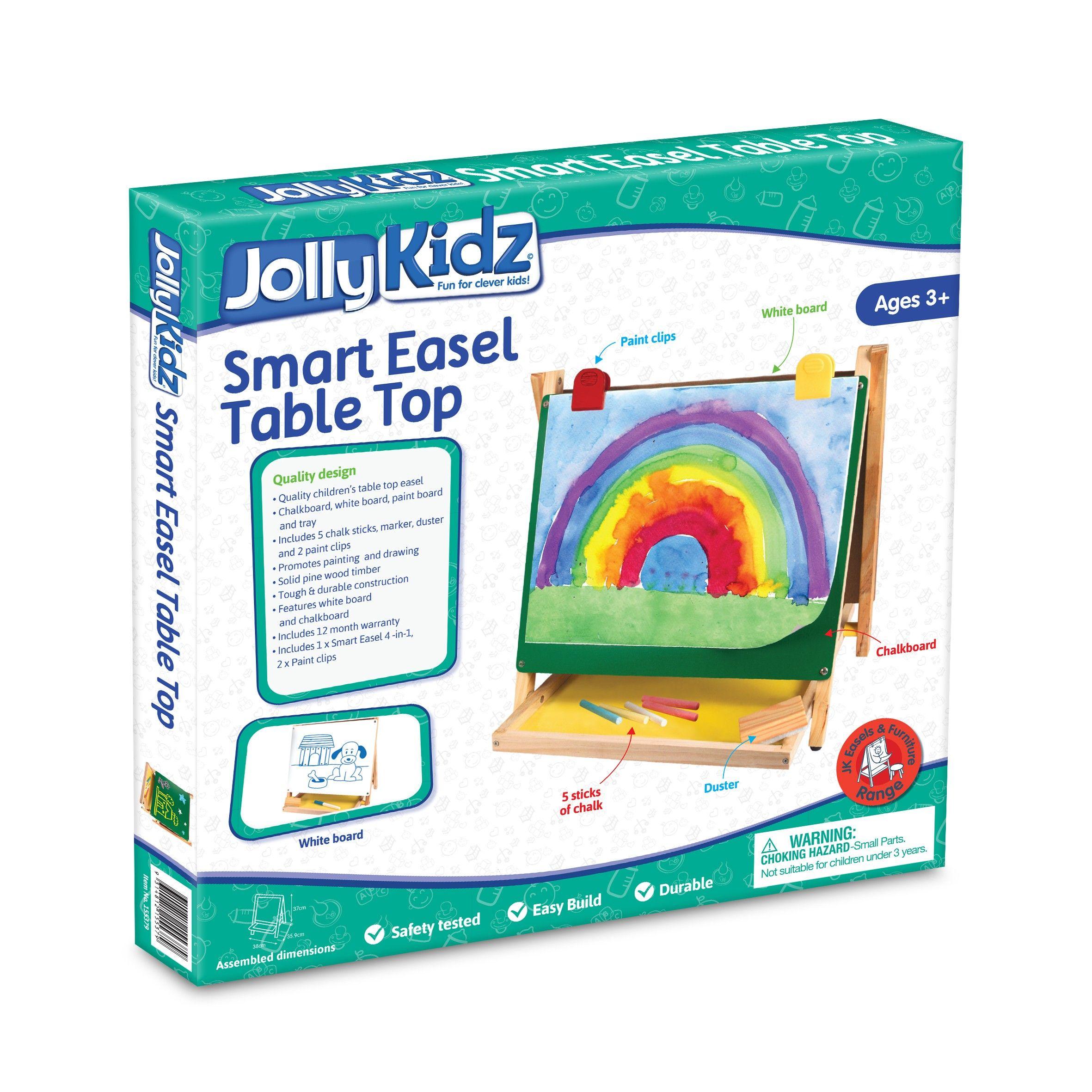 Jolly Kidz Smart Easel - Table Top - Colorific Education