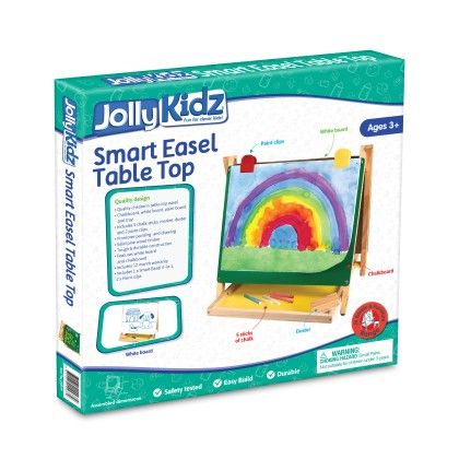 Jolly Kidz Smart Easel - Table Top - Colorific Education