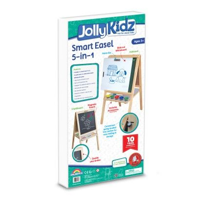 Jolly Kidz Smart Easel - 5 In 1 - Colorific Education