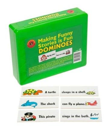 Making Funny Stories Is Fun Desk Dominoes - Learning Can Be Fun