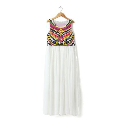 Vintage Dress White - STUPA FASHION