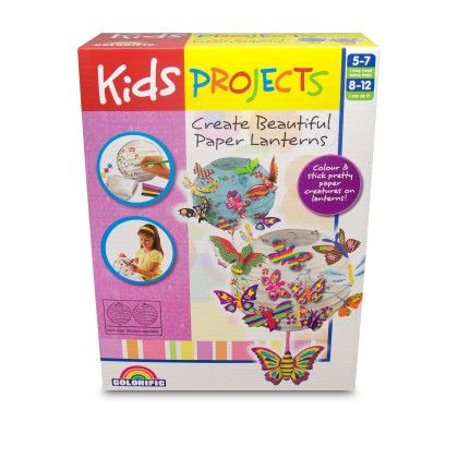 Kids Projects Beautiful Paper Lanterns - Colorific Education