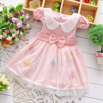 Pretty Pink Dress - Peach Giirl