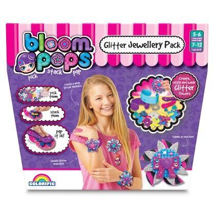 Bloom Pops Glitter Jewellery Pack - Colorific Education