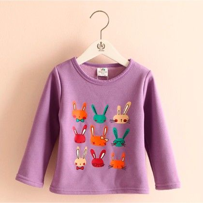Purple Bunny T-shirt - Mauve Collection