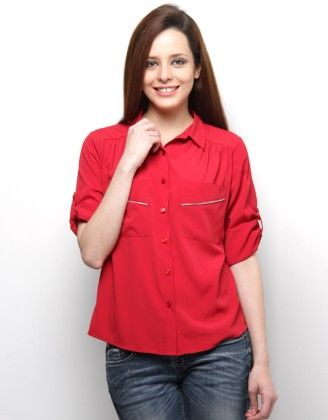 Zip Detail Shirt - XNY