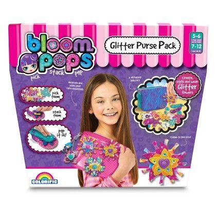 Bloom Pops Glitter Purse Pack - Colorific Education