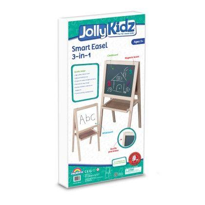Jolly Kidz Smart Easel - 3 In 1 - Colorific Education