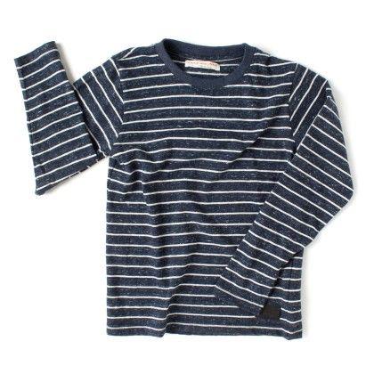 Stripe Long Sleeve  Boys T-shirt - Raine & Jaine