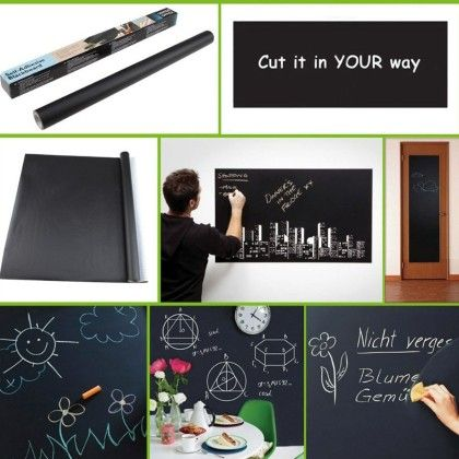 Vinyl Blackboard Sticker Sheet - Total Gift Solutions