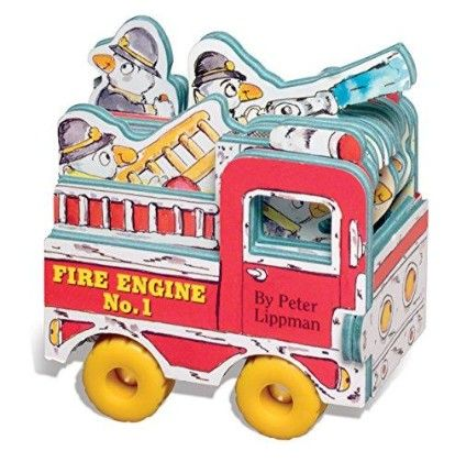 Mini Wheels Mini Fire Engine - Workman Publishing