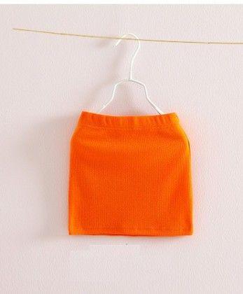 Orange Cute Pencil Skirt - Mauve Collection
