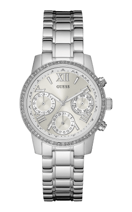 Guess Silver-tone Mini Sunrise Watch - Guess Watches