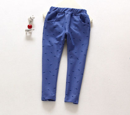 Stylish Blue Legging With Pockets - Jazzy Snazzy